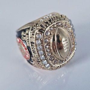 Alabama Crimson Tide Fan 2015 Champ Ring